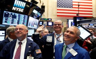 Ketegangan Perdagangan AS-China Mereda, Wall Street Tancap Gas