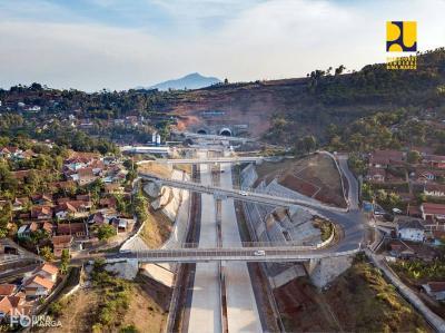 Terowongan Tol Cisumdawu Dibuka Fungsional saat Mudik Lebaran