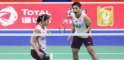 Greysia Apriyani Perpanjang Napas Indonesia Kontra Taiwan 2-2