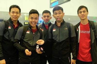 Tantang Favorit Juara, Indonesia Pantang Padamkan Semangat