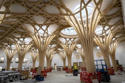 Mengenal Masjid Cambridge, Masjid Tanpa Jejak Karbon Pertama di Eropa