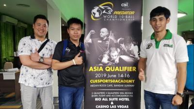 Semua Wakil Indonesia Lolos ke Fase Knockout Predator World 10 Ball Championship 2019
