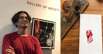 Ray Shabir Sukses Intepretasikan Rasa Insecure dan Anxiety dalam Buku Perdananya