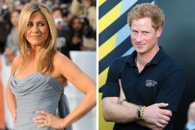 Pangeran Harry Naksir Berat dengan Jennifer Aniston?