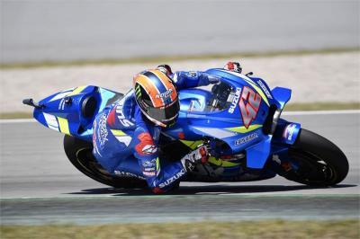 Alex Rins Puas dengan Sasis Baru Hasil Modifikasi Suzuki