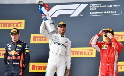 5 Pembalap Terakhir Pemenang F1 GP Prancis