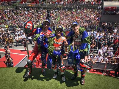 Dovizioso Turut Senang Petrucci Finis Ketiga di MotoGP Catalunya 2019