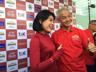 Ganjar Pranowo Ungkap Persiapan Jateng Jadi Tuan Rumah Borobudur Marathon 2019