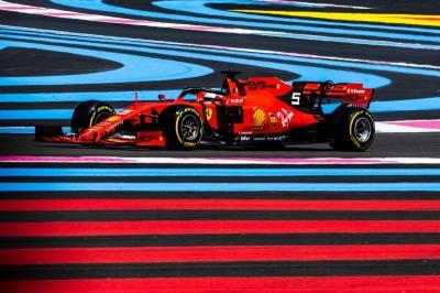 Vettel: Pembaruan SF90 Tak Berikan Hasil Positif di F1 GP Prancis 2019