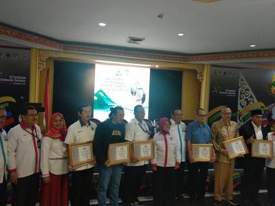 BSANK Akreditasi Enam Organisasi Olahraga