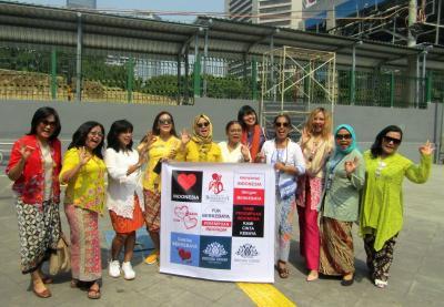 Kampanye  SelasaBerkebaya di Stasiun MRT Dukuh Atas