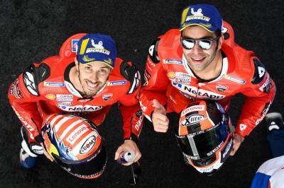 Ducati Tak Ingin Dovizioso dan Petrucci Saling Bersaing