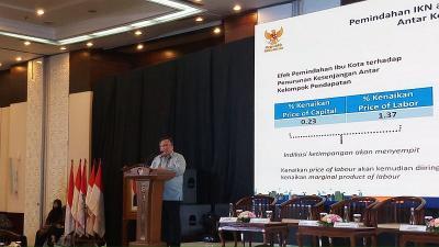 Pembangunan Ibu Kota Baru Sumbang 0,1% Pertumbuhan Ekonomi