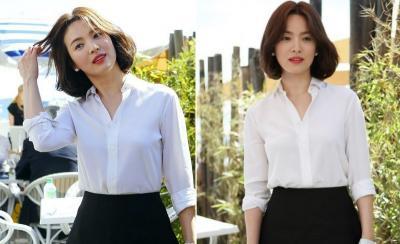 5 OOTD Song Hye Kyo, Bisa Jadi Inspirasi untuk Tampil Anggun dan Kasual