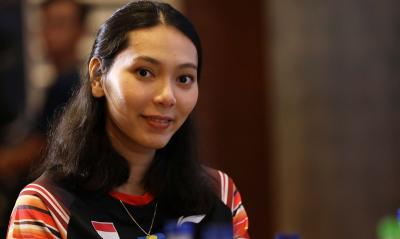 Hadapi Perang Saudara di Babak Pertama Indonesia Open 2019, Ini Respons Gloria
