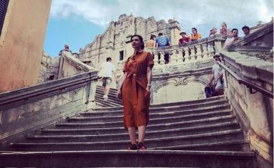 Najwa Shihab Liburan ke Lokasi Syuting Game of Thrones, Mendadak Jadi Cersei Lannister?