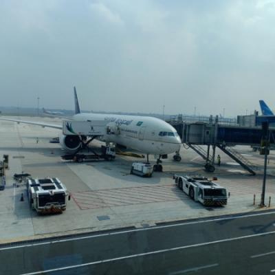 Subhanallah, Angin Dorong Pesawat Jamaah Haji Tiba Satu Setengah Jam Lebih Cepat