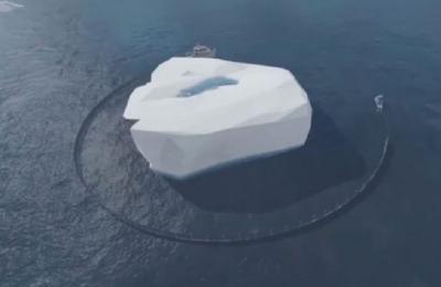Jutawan Uni Emirat Arab Berencana Tarik Gunung Es untuk Dijadikan Atraksi Wisata
