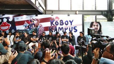 Kelaparan hingga Syuting Sehat Jadi Pengalaman Seru Pemain Koboy Kampus