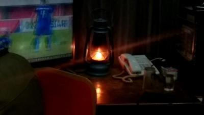 Api ASEAN Schools Games Disimpan dalam Lampu Sentir