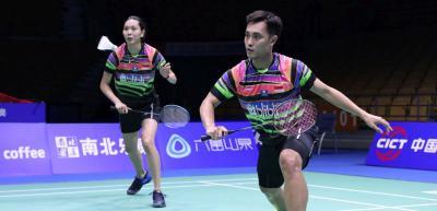 Wahyu Ade dan Hafiz Gloria Terhenti di Babak 16 Besar Indonesia Open 2019