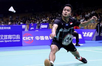 Anthony dan Della Rizki Tersingkir dari Indonesia Open 2019