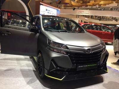 GIIAS 2019! Daihatsu Xenia Diubah Jadi Mobil Sport, Begini Hasilnya