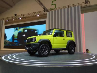 Resmi Dipasarkan, Harga Terendah Suzuki Jimny Rp315,5 juta