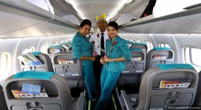 Damai, Youtuber Rius Digratiskan First Class dari Garuda