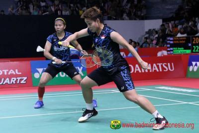 Hal yang Dipetik Greysia Apriyani Usai Tumbang di 16 Besar Indonesia Open 2019