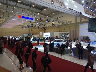 Promo Suzuki di GIIAS 2019, Beli Mobil Langsung Dapat Motor