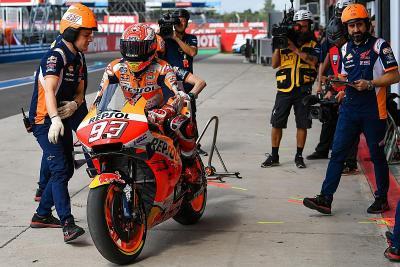 Kesampingkan Rekor, Marquez Hanya Fokus Raih Gelar Juara