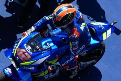 Rins Senang dengan Performa Motor Suzuki di MotoGP 2019