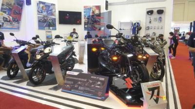 Lini Produk Motor Suzuki di GIIAS Lengkap dengan Kehadiran KATANA