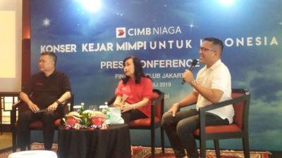 Gelar Konser  KejarMimpi, CIMB Niaga Dorong Nasabah Wujudkan Mimpi
