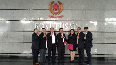Ketua IBA Senang Niatnya ke KONI Pusat Berakhir Positif