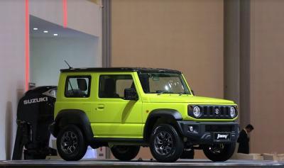Suzuki Bongkar Tahapan Rancang Bangun Jimny Generasi ke-Empat