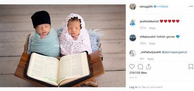 Tips agar Dapat Bayi Kembar ala Ratna Galih dan Doanya!