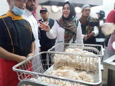 Sri Ilham Lubis: Makanan Jamaah Menggunakan Bahan Berkualitas Tinggi