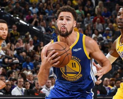 Klay Thompson Optimis Bisa Antarkan Warriors Juara NBA Lagi
