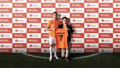 Shopee Perkenalkan Cristiano Ronaldo Sebagai Brand Ambassador