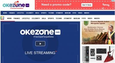 Geser Google, Okezone.com Jadi Situs Nomor 1 Terpopuler di Indonesia