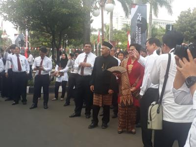 74 Tahun Merdeka, Sri Mulyani: SDM Jadi Tantangan Indonesia