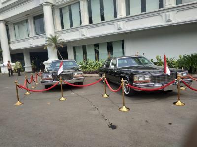 Intip Spesifikasi Mobil Mantan Presiden RI yang Dipamerkan di Istana