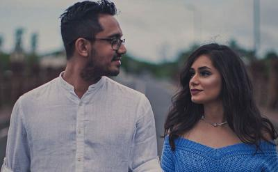 4 Potret Cantik Sanjana Hira, Menantu Baru Raam Punjabi