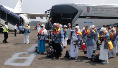 231 Wafat, 4.643 Jamaah Haji Sudah Tiba di Tanah Air