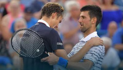 Tersingkir di Semifinal Cincinnati Masters, Djokovic Akui Ketangguhan Medvedev
