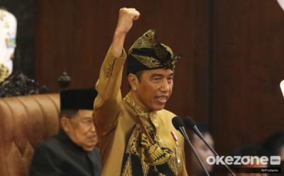 Pengangguran dan Penduduk Miskin Berkurang, Jokowi: Sejarah NKRI