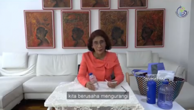 Tolak Minuman Berbotol Plastik, Menteri Susi: Aku Kurang Suka