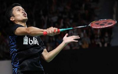 Anthony Ginting Melaju ke Babak 32 Besar Kejuaraan Dunia Bulu Tangkis 2019